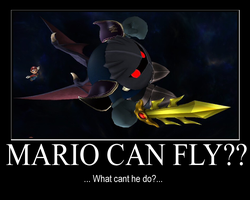 mario can fly by riddley94