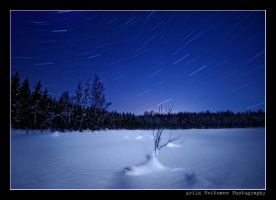 Startrails.. by uberfischer
