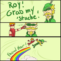 GRAB MY STACHE by jackalopejim