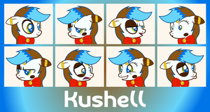 MLP OC Faces - Kushell by outlaw4rc
