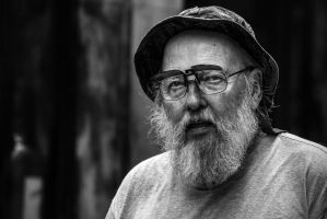 Old guys rule b/w by attomanen