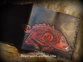 Razorback Wallet by The-Beast-Man