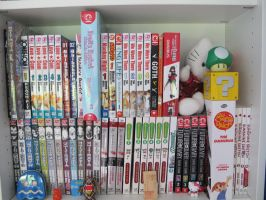 Manga Shelf 03 by EmiHerro
