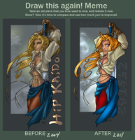 Draw this again meme by OnJedone