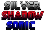 Silver Shadow Sonic Font by kameiko