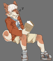 falling asleep reading by datefriend