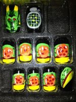 Dragon ball z (nail art) by misspants12