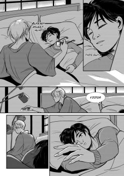 Yuri on Ice: Post Airport 04 by Rice-Lily