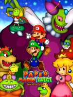 paper mario and luigi superstar saga by Goombarina