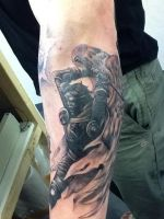Winged Warrior by state-of-art-tattoo