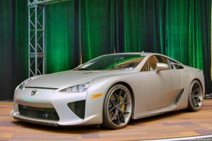 Matte Silver LFA by SeanTheCarSpotter