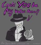 Smexy slender voice acting competition poster by IceBridget