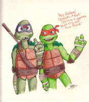 TMNT: The Butt Fly by PurpleDonnie
