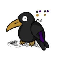 Witch Wing Crow by Phycosmiley
