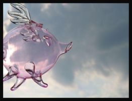 When Pigs Fly by Dellessanna