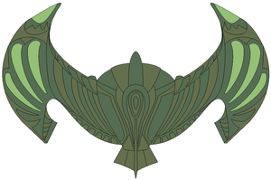 Too Strange Romulan design by JohnnyMuffintop