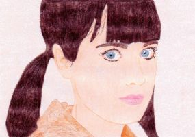 Zooey Deschanel by DeadWoodPete83