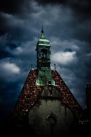 church tower by dispershin