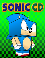 Sonic CD Cubee by mikeyplater