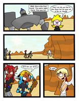 DRR Fight 5 page 1 by Thalden