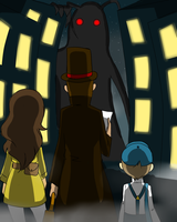 Layton and the Specter by LadyCelestialLeo