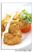 Main Dish: Fish and Chips by otaru23