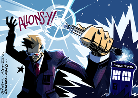 DOCTOR WHO: TEN (COLOR) by Frederic-Mur