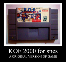 KOF 2000 for snes by Maleiva