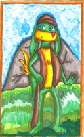 Sketch Card- Res by arielthealien