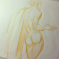 Figure sketch yelloooow by nicolasammarco