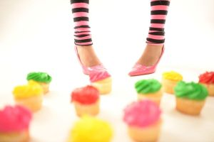 Cupcake Feet by xAleux