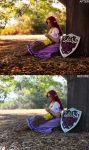Malon before and after by away-with-the-fae