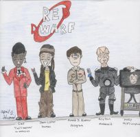 The Red Dwarf Team by Kale-Wolfson
