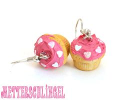 Lovely Cupcake Earrings by Metterschlingel
