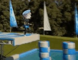 Hetalia - Wipeout: gif - Sealand by SydneyA