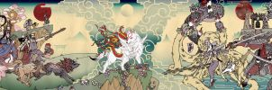Okami  Amaterasu's Journey by eiferet