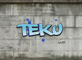 Graffiti by TEKUxMIKU