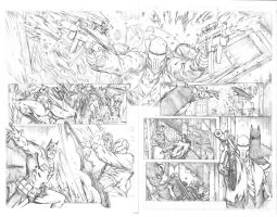 BATMAN CONFIDENTIAL: Rules of Engagement Page 3 by BenHarveyArt