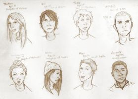 Percy Jackson fan characters by BlackCrescents