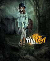 Kim HyunA by monsterz-arts