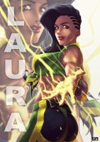 Laura - Street Fighter V by suppa-rider