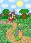 The Story of the Tortoise and the Hare by MCsaurus