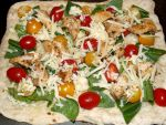 Chicken Flatbread Before the Oven by CorpusVermis