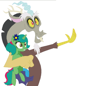 Discord And Mandy by mego21