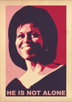 Michelle Obama by Man-i
