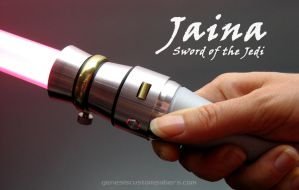 Jaina Solo's lightsaber by Madcow-Genesis