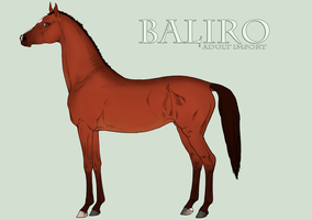 Baliro Import by BlueLadyAces