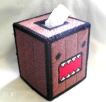 Domo Tissue Box Cover by agorby00