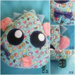 Cupcake Monster Decorative Pillow by TheChgz