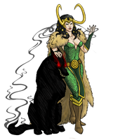 Lady Loki by sparkyHERO